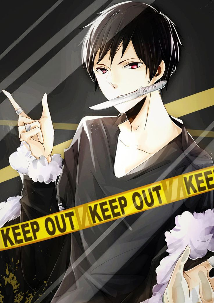 Izaya Orihara Trapped Behind Screen