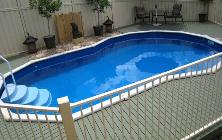1000 images about sterns above ground pools on pinterest for Deep above ground pools