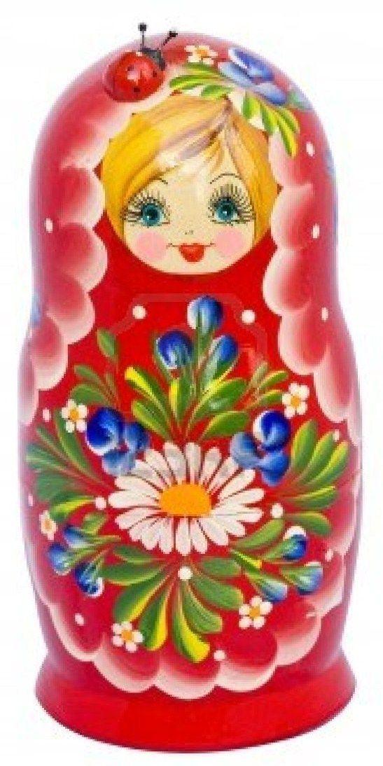 Matryoshka - Russian nesting doll. #folk #art #Russian #dolls