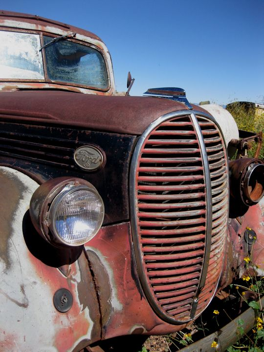 antique rusty old ford truck | Old and Worn | Pinterest ...