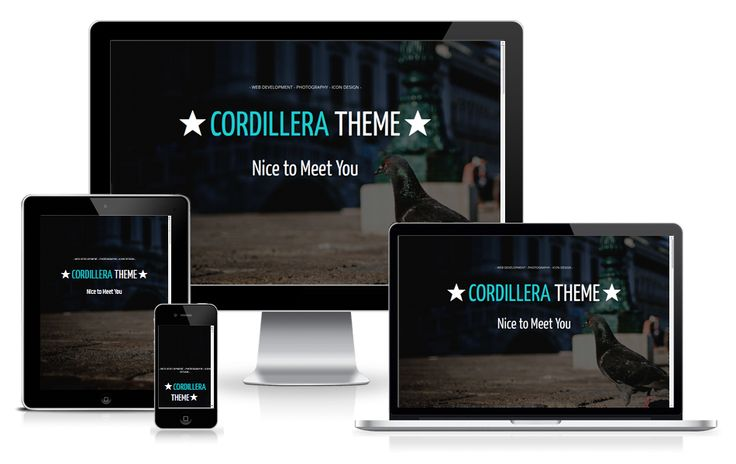 http://wpthemess.net/cordillera/ Cordillera is a business #wordpress theme that can be used to build a page for the person or company with a flat design