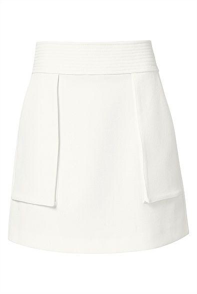 White Blonde Skirt from @witcheryfashion.  #witcheryfashion #witchery #fashion #skirt