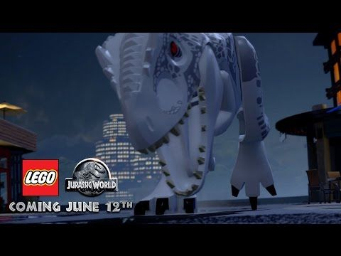 Think Jurassic World's Indominus Rex is too Scary? Check out the Lego Version Instead   DAPs Magic
