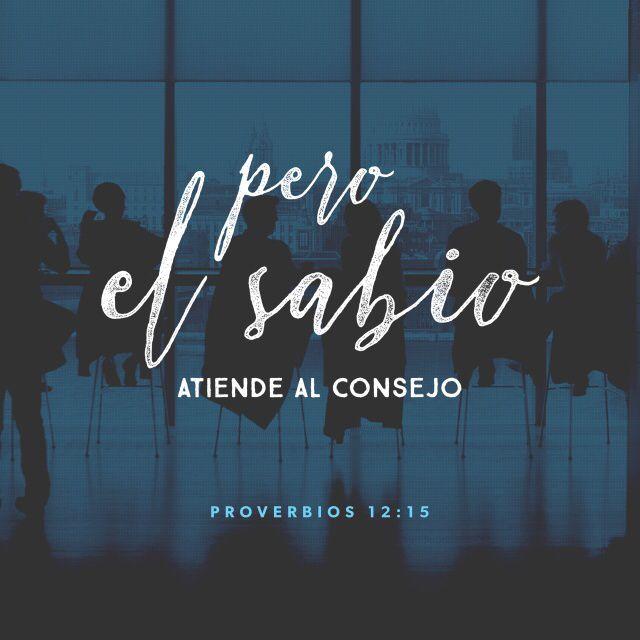 """""""Los necios creen que su propio camino es el correcto, pero los sabios prestan atención a otros."""" Proverbios 12:15"""