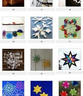 Natale: 60 e più modelli di stelle natalizie – Lapappadolce