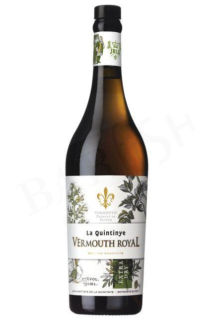 BarFish - La Quintinye Vermouth Royal Extra Dry – 17% – 750ml - Vermouth - Aperitif - Barkultur genießen!