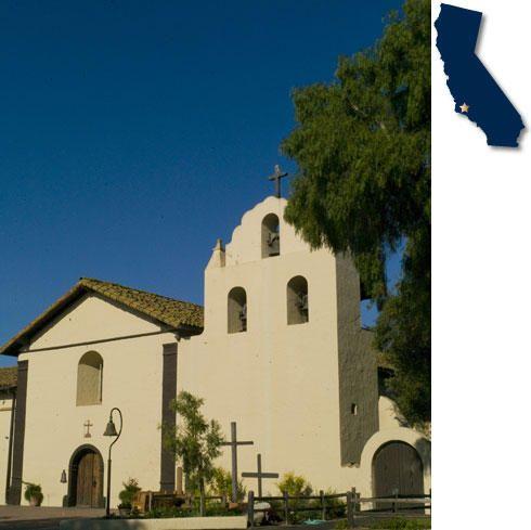 Santa Inés Virgen y Martír  The Nineteeth of the California Missions