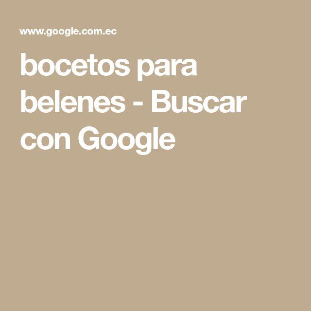 bocetos para belenes - Buscar con Google