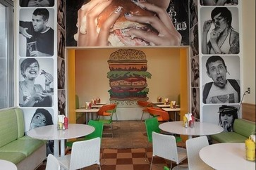 PYT Burger Joint, Philadelphia, PA - modern - other - los angeles - Lebello - Modern Outdoor Living