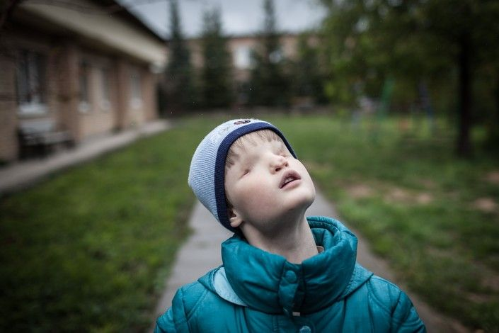 Эрик Джонсон. Детский дом для незрячих и неслышащих детей