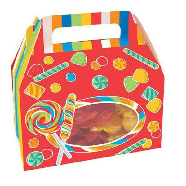 Candy Treat Box   Candy Bar Party   Circus Party Supplies