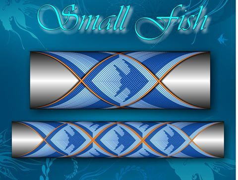 Small Fiash step by step Custom Rod Building Cross Wrap Pattern Facebook Page
