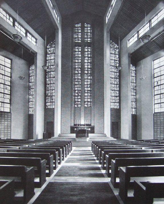 Gustav-Adolf-Kirche_Otto-Bartning-Archiv, TU Darmstadt