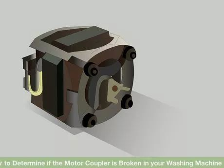 wash machine motor coupler
