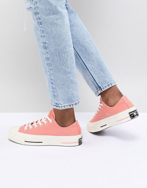Converse Chuck Taylor All Star  70 Low Sneakers In Pink  1ef497e88f