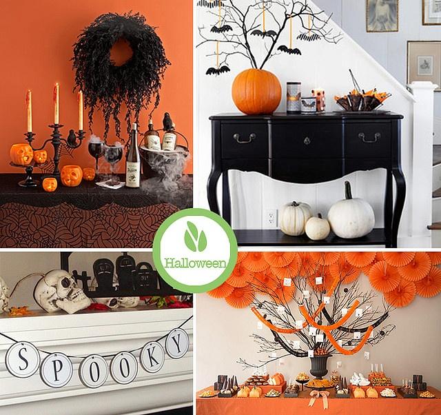 Halloween Home Decor Pinterest: Halloween Decorating Ideas