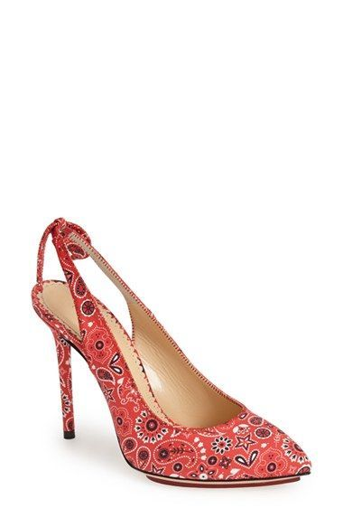 99cd2821c6 Love these shoes by CHARLOTTE OLYMPIA  Monroe  Bandana Print Pump (Women) -