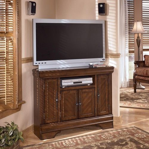 Ashley Furniture Hamlyn Corner Tv Console Dunk Bright Furniture Tv Or Computer Unit