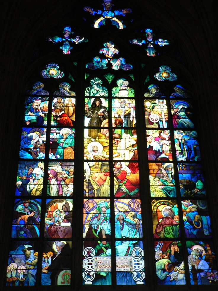 I'm seriously in love with all stained glass