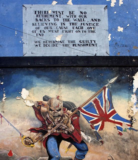 battle of the boyne mural