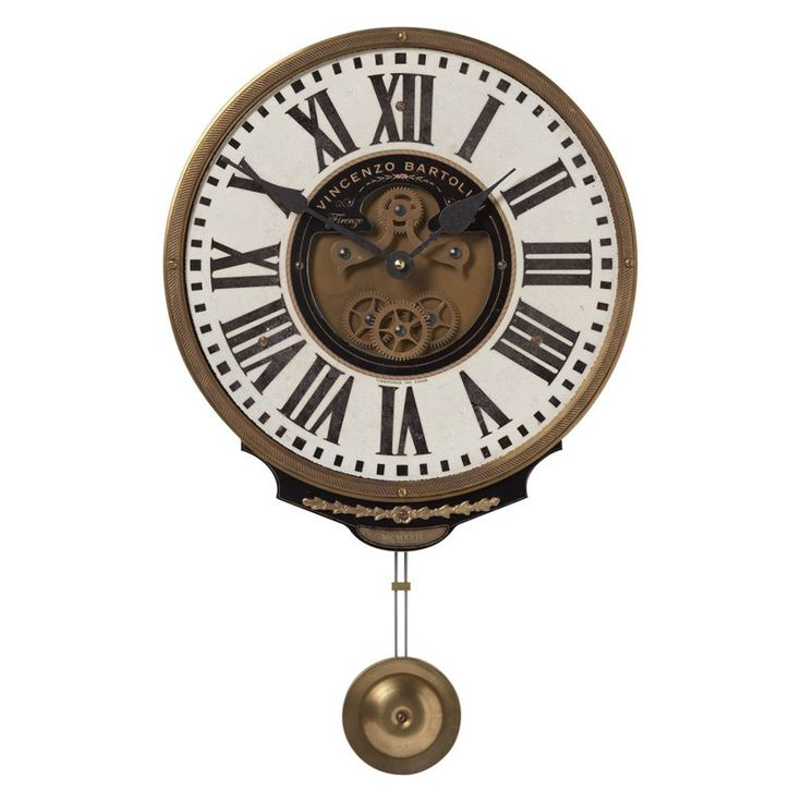 Have to have it. Uttermost Vincenzo Bartolini Cream Wall Clock - 11W in. $151.8 / Hayneedle.com