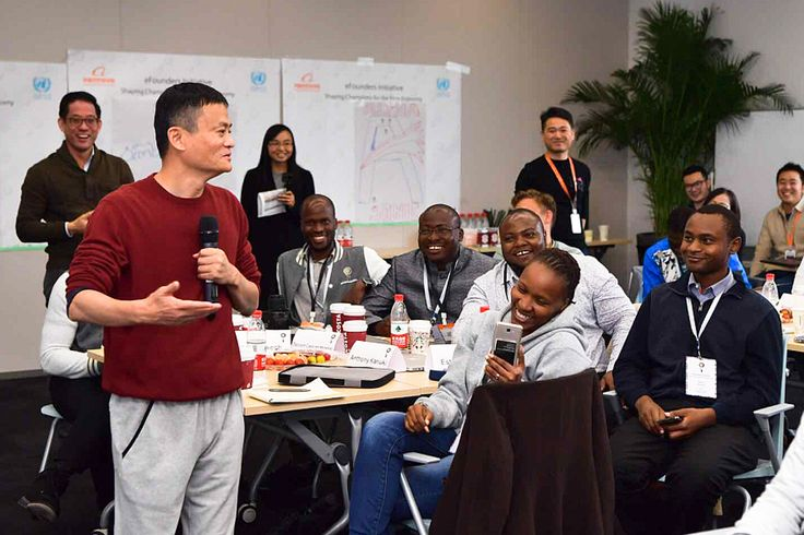 A total of 24 entrepreneurs from seven African countries arrived between Nov 11 and 14 at Alibaba Group Holding's Xixi headquarters in Hangzhou, East China's Zhejiang province, to begin studying internet business and entrepreneurial knowledge. Jack Ma, founder, and chairman of e-commerce giant Alibaba, lectured them Nov 14.   #african #business coaching #dreams #entrepreneur #entrepreneurship #inspire #jackma #success #world
