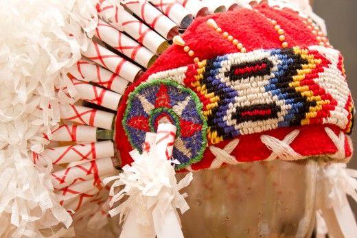 Костюм Индейца с индейским головным убором - роучем | Страна Мастеров