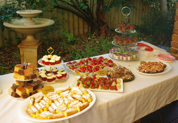 Catering for your Tea Party