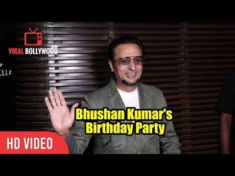 Gulshan Kumar At Bhushan Kumar's Birthday Party   T-Series Party