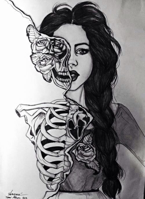 Submission #6 Dark beautiful work Source: http://www.pinterest.com/pin/78461218482567160/