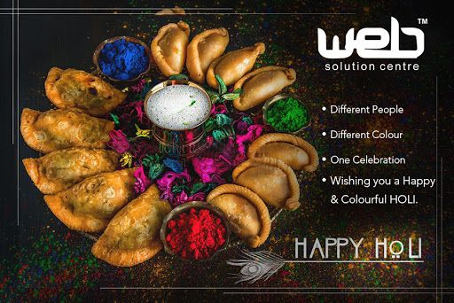 Celebrate art, splash creativity and spread happiness this Holi. Associate each color with a fond memory and cherish it forever.  Here's wishing each and every one of you, a very colorful and joyful Holi.  #HappyHoli2k18 #WebSolutionCentre