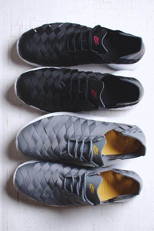Nike Roshe Run Woven: Black and Cool Grey