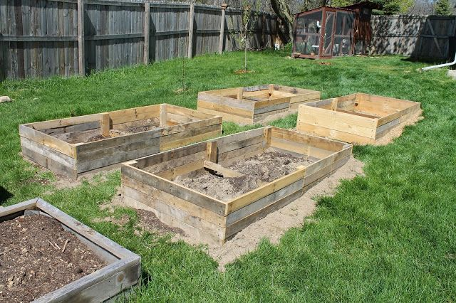 17 best images about gardening on pinterest gardens Soil mixture for raised vegetable garden