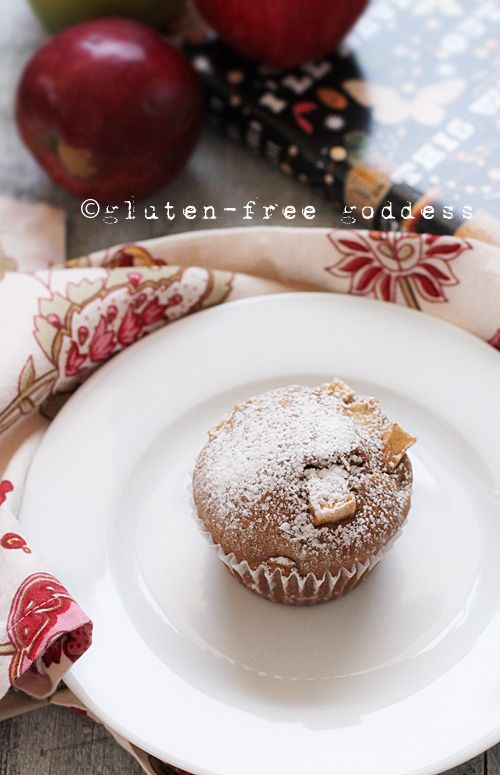 Gluten-Free Apple Cake Muffins - light and sweet. I made these yesterday-jan 20,2015.  They are delicious! I used two cups of Bobs Redmill all purpose GF flour instead of adding flour additives.  I would cook 18-20 min. 22 min. A bit dry but delicious!