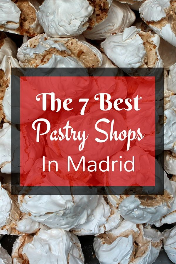 There is a delicious pastry for every major celebration in Spain so knowing a good pastry shop is crucial! Here's a list of the best pastry shops in Madrid!