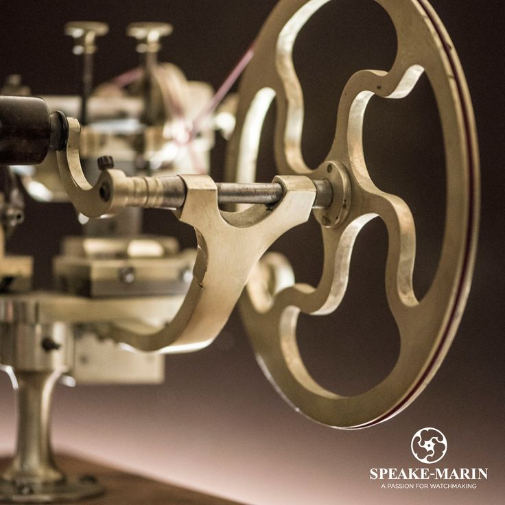 Did you know that the topping tool inspired the logo of Speake-Marin? www.speake-marin.com