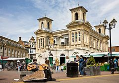 Kingston Upon Thames - the marketplace I can't wait to walk through this daily