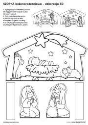 Szablony do wycinania - Zima i Boże Narodzenie - SuperKid