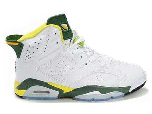 Homme Nike Air Jordan 6 Retro Chaussures 636
