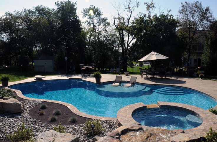 1000 images about backyard on pinterest swimming pool for Pool and spa contractors