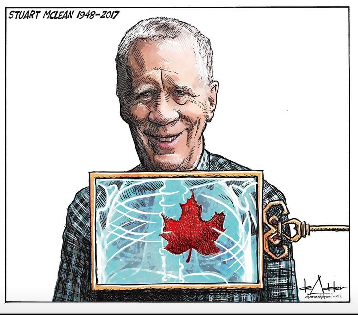 R.I.P Stewart McLean. We will carry your voice with us.  Courtesy of meanwhile in Canada.