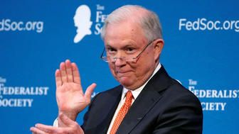 Jeff Sessions Yuks It Up Over Russians In Speech To Lawyers https://www.huffingtonpost.com/entry/sessions-russian-lawyers_us_5a0fb5dee4b045cf43718e96?utm_hp_ref=donald-trump