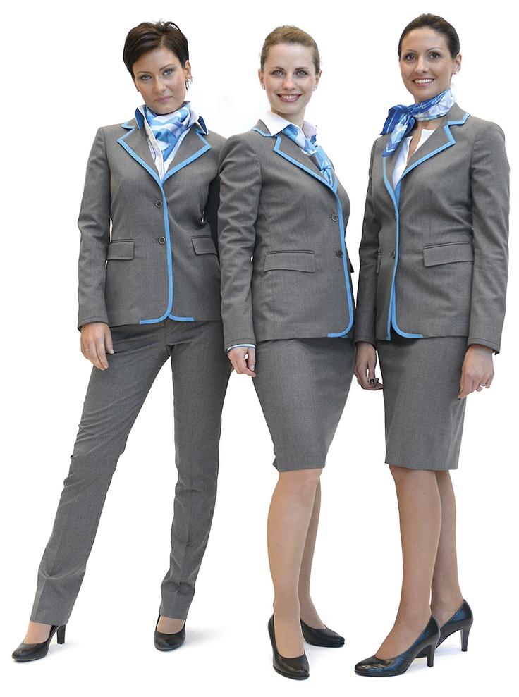 New uniforms for airdolomiti flight attendants http for Uniform spa sistemi per serramenti
