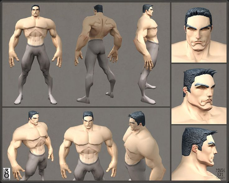 Early Human Male Model by MinohKim
