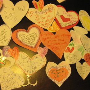 7 FAMILY ACTIVITIES TO FILL FEBRUARY WITH LOVE - Check out these super-simple, meaningful ideas for celebrating and enhancing the love in your home before and during Valentine's Day.