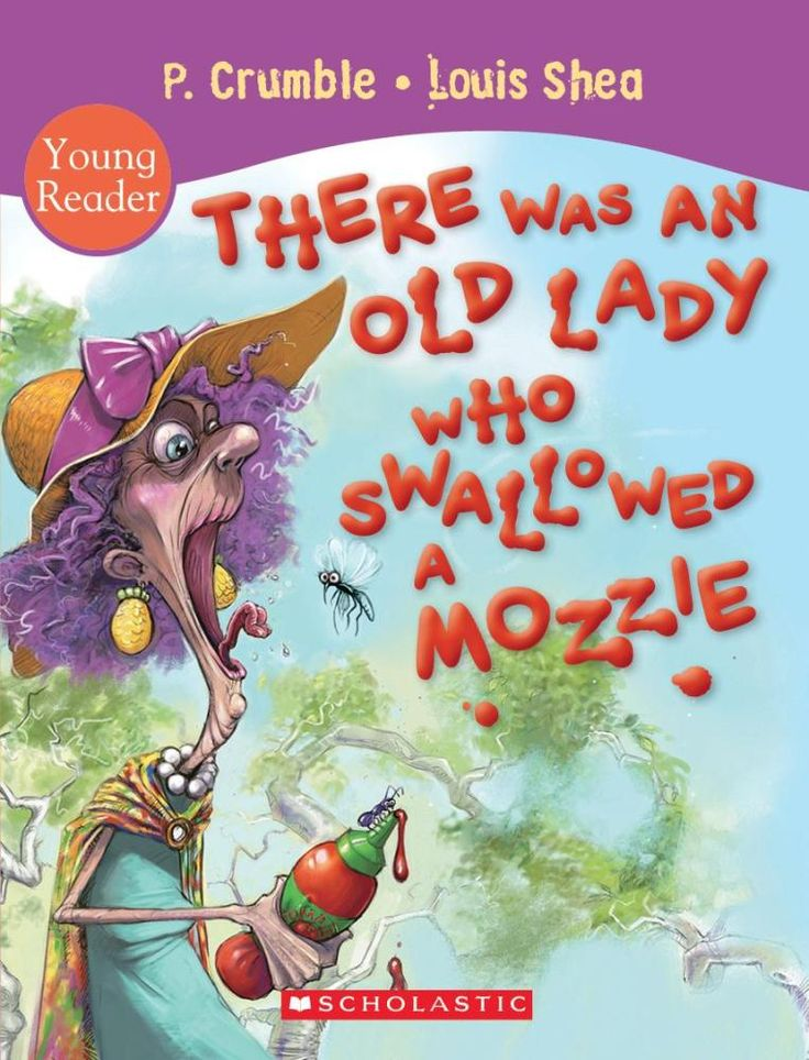 (Own) There Was an Old Lady Who Swallowed a Mozzie - P. Crumble