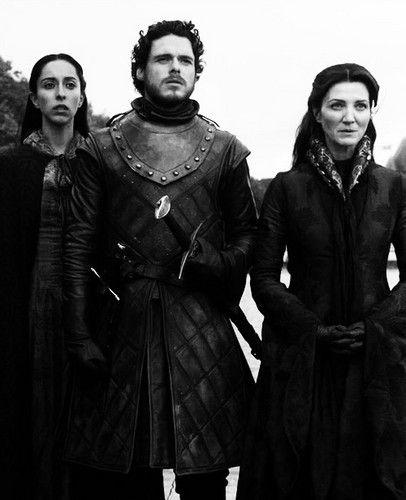 Catelyn, Talisa & Robb Stark ~ Game of Thrones