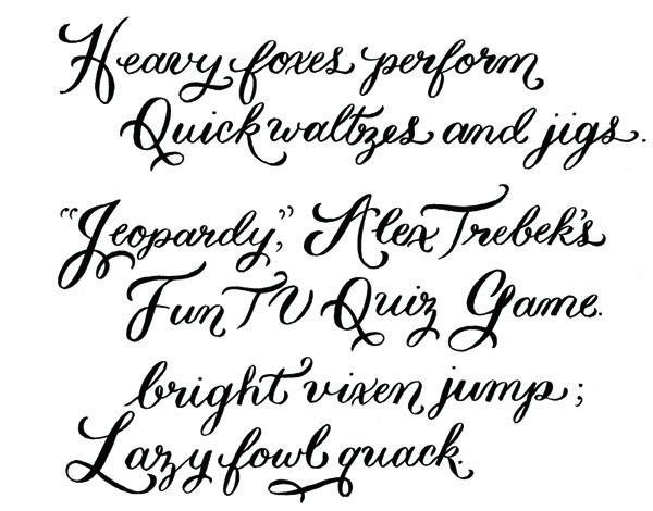 Wedding Invitations Fonts: Best 25+ Calligraphy Fonts Ideas On Pinterest