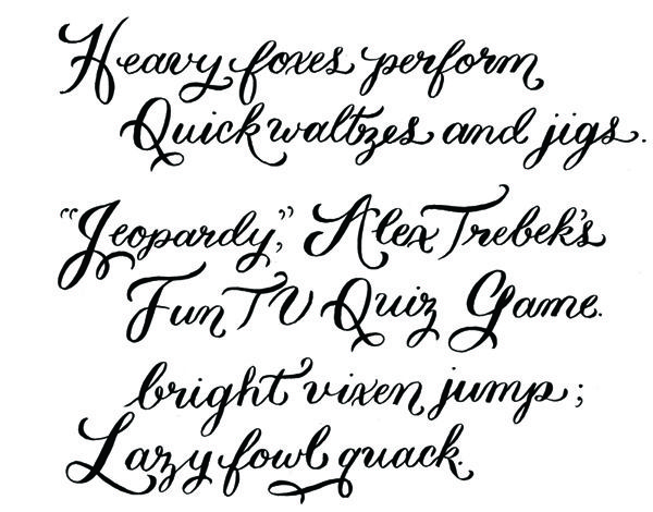 happy weekend!} | Calligraphy fonts and Fonts