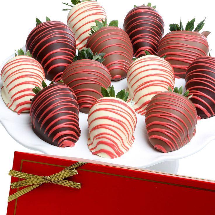 Elegant Red Chocolate Covered Strawberries - HAYN309